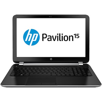 HP Pavilion 15-N001SH notebook fekete