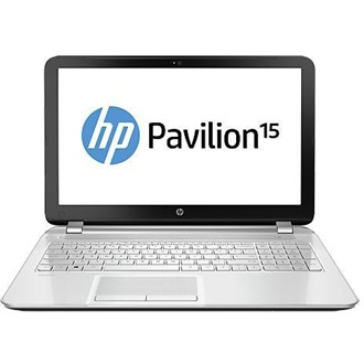 "HP Pavilion 15-AB001NH 15.6"" HD, Core i3-5010U 2.1GHz, 4GB, 1TB HDD, AMD R7 M360, hófehér"