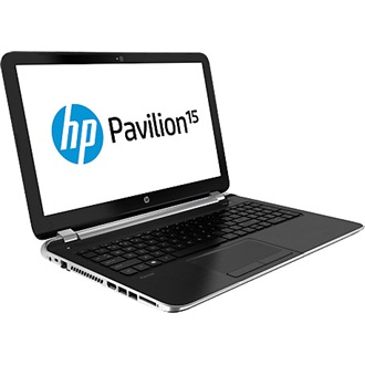 HP Pavilion 15-AB105NH notebook fekete