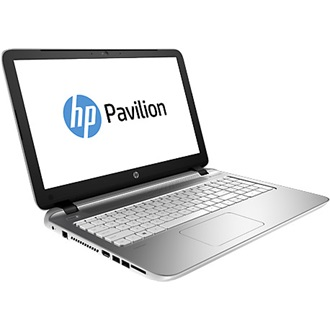 HP Pavilion 15-AB205NH notebook fekete