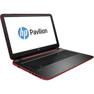 HP Pavilion 15-P251NH notebook piros