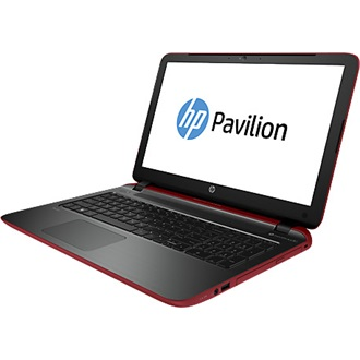 HP Pavilion 15-P258NH notebook piros