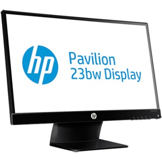 "HP Pavilion 23bw 23"" IPS LED monitor fekete"