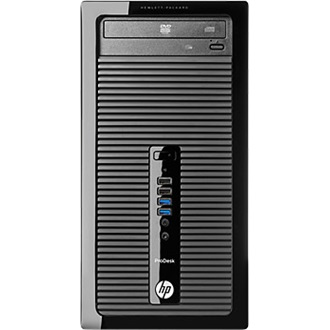 HP 400 ProDesk MT Intel Pentium G3220, 500 GB HDD 7200 SATA, DVD/-RW, 4GB DDR3-1600 (sng ch), FreeDOS, 3-3-1- Wty