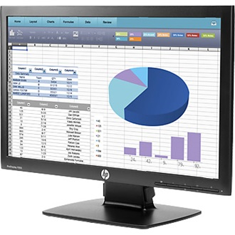 "HP ProDisplay P202 20"" LED monitor fekete"