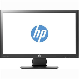 "HP ProDisplay P201 20"" LED monitor fekete"