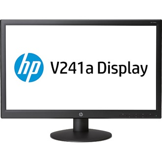 "HP V241A 23.6"" TN LED monitor fekete"