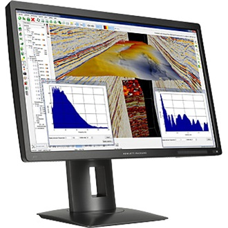 "HP Z24s 23.8"" IPS LED monitor fekete"