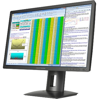 "HP Z27Q 27"" IPS LED monitor fekete"