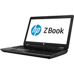 HP ZBook 17 G2 notebook fekete