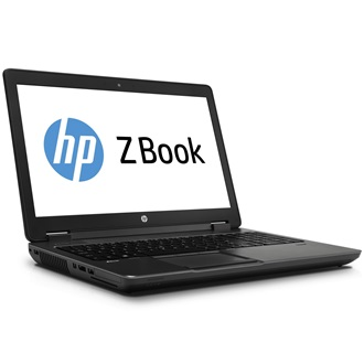 HP ZBook 15 notebook fekete