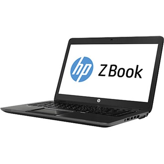 HP ZBook 14 notebook fekete