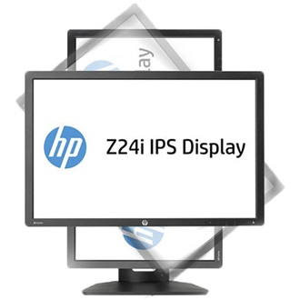 "HP Z24i 24"" IPS LED monitor fekete"