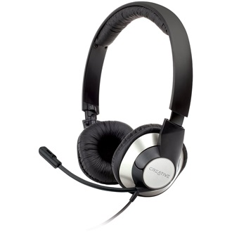 Headset Creative ChatMax HS-720, Full size, For PC and NB, 16Ohm, Neodymium 30mm