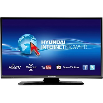 "Hyundai HLE24211 24"" Edge LED smart TV"