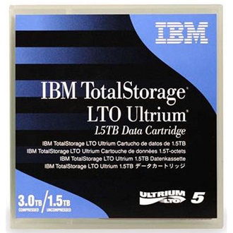 IBM Adatkazetta Ultrium 1500/3000GB LTO5