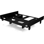 ICYBOX IB-AC652 IcyBox Internal Mounting frame for 2.5/3.5 HDD/SSD in 5.25 Bay, Black