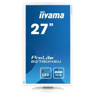 "Iiyama B2780HSU-W1 27"", TN, Full HD, 1ms, DVI, HDMI, speakers"