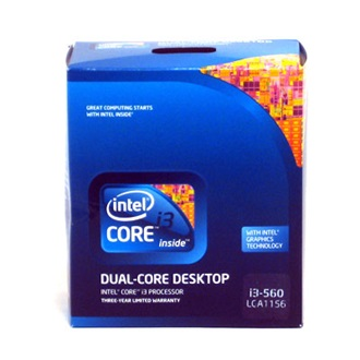 Intel Core i3-560 ( 3,33GHz/4MB) (s1156) BOX processzor