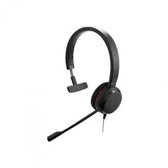 JABRA EVOLVE 20 MS MONO HD AUDIO MICROSOFT CERTIFIED
