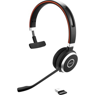 JABRA EVOLVE 65 MS MONO HD AUDIO MICROSOFT CERTIFIED