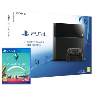 Sony PlayStation 4 1000GB fekete + No Man`s Sky