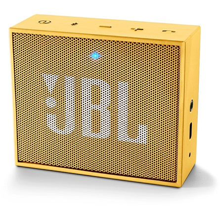 JBL GO hordozható hangszóró sárga