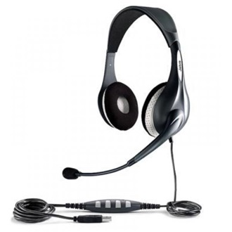 Jabra UC VOICE 150 MS OC DUO USB DUO HEADSET W/ NC MICROPHONE