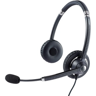 Jabra UC VOICE BINAURAL CORDED GREY