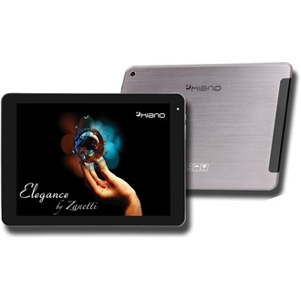 "KIANO Elegance 9,7 by Zanetti 9.7"" 8GB 3G tablet fekete"
