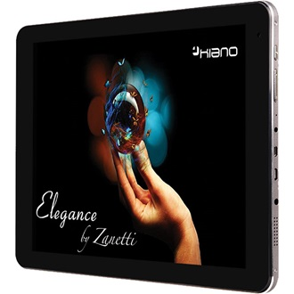 "KIANO Elegance by Zanetti 10.1"" 16GB tablet fekete"