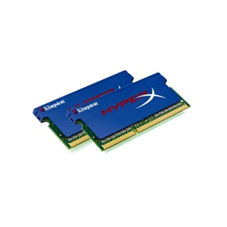 Kingston HyperX PnP 8GB 2133MHz DDR3 - SODIMM memória Non-ECC CL12 Kit of 2