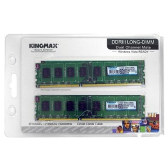 KINGMAX 4GB 1600MHz DDR3 memória Kit of 2
