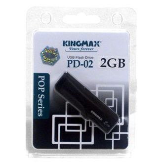 Kingmax 2GB USB2.0 PD-02 pendrive fekete