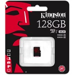 Kingston 128GB UHS-I U3 microSDXC memóriakártya Single Pack