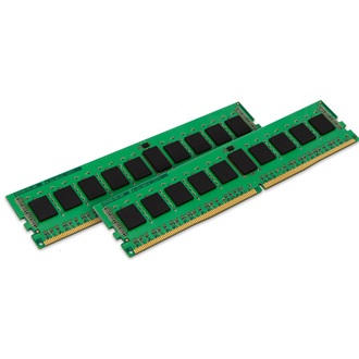 Kingston 16GB 2133MHz DDR4 memória Non-ECC CL15 Kit of 2 1Rx8