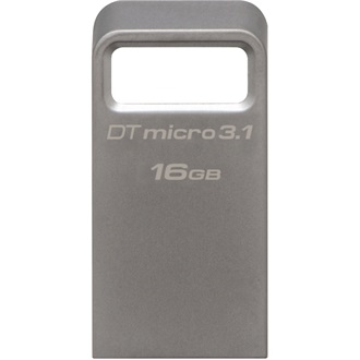 Kingston 16GB Data Traveler Micro USB3.1 pendrive ezüst