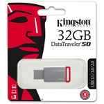 Kingston 32GB DataTraveler 50 USB 3.1 pendrive