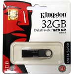 Kingston 32GB DataTraveler SE9 G2 Premier USB 3.0 pendrive sötét króm