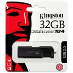 Kingston 32GB Data Traveler 104 USB 2.0 pendrive