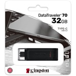 Kingston 32GB Data Traveler 70 USB-C pendrive fekete