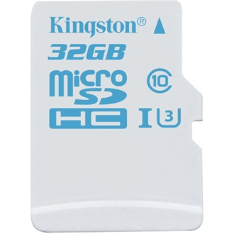 Kingston 32GB UHS-I U3 Action Card microSDHC memóriakártya Single Pack