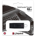 Kingston 32GB Traveler Exodia USB 3.2 Gen 1 pendrive fekete-fehér