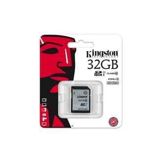 Kingston 32GB Video Secure Digital Class 10 UHS-I SDHC memóriakártya