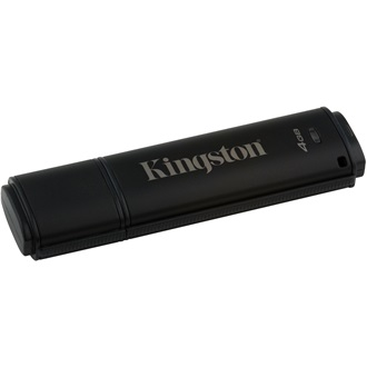 Kingston 4GB DT4000 G2 Secure Hardware Encryption (Management Ready) vízálló ütésálló USB3.0 pendrive fekete