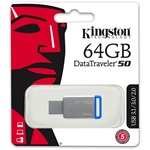 Kingston 64GB DataTraveler 50 USB 3.1 pendrive