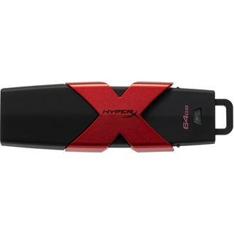 Kingston 64GB HyperX Savage USB3.1 pendrive fekete-piros