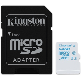 Kingston 64GB UHS-I U3 Action Card microSDXC memóriakártya