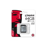 Kingston 64GB Video Secure Digital Class 10 UHS-I SDXC memóriakártya