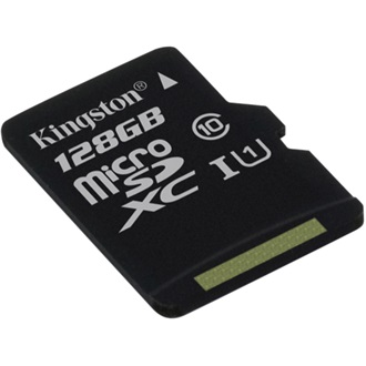 Kingston 128GB Class 10 UHS-I microSDXC memóriakártya Single Pack